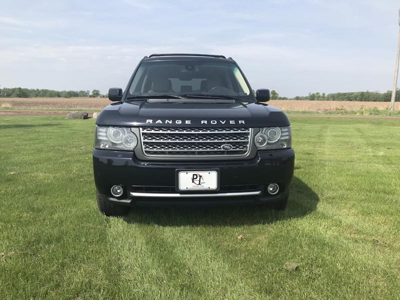 2010 Land Rover front